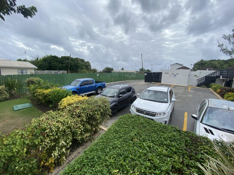 Convenient parking close to apt 120