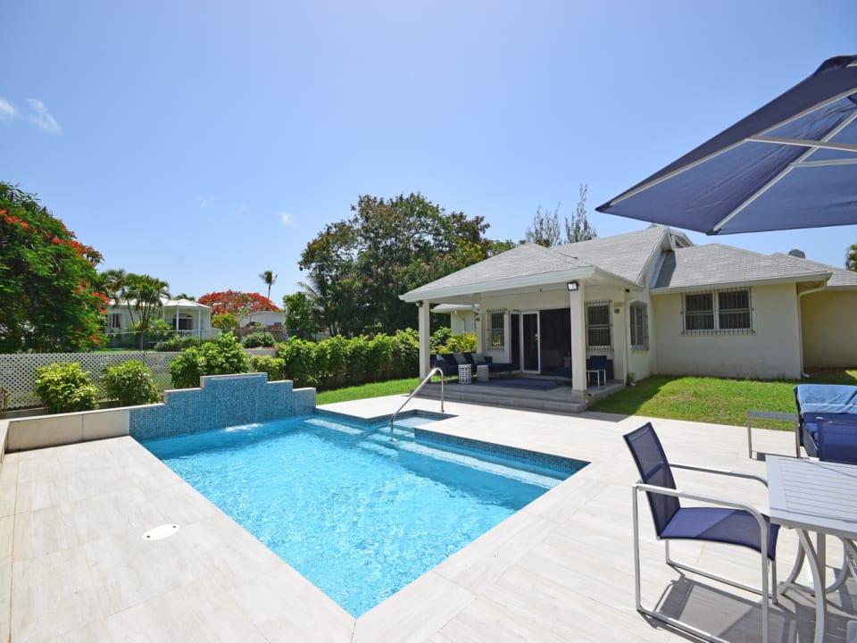 Captivating pool deck