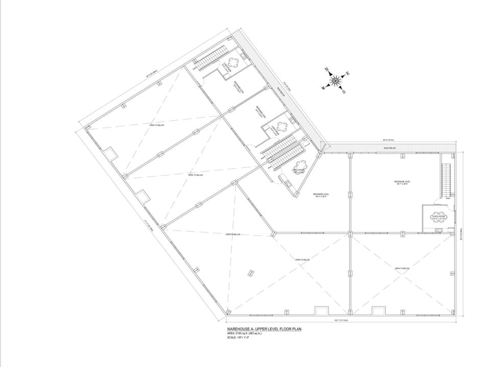 Valley View Warehouse 11 Floor Plan Mezzanine Level