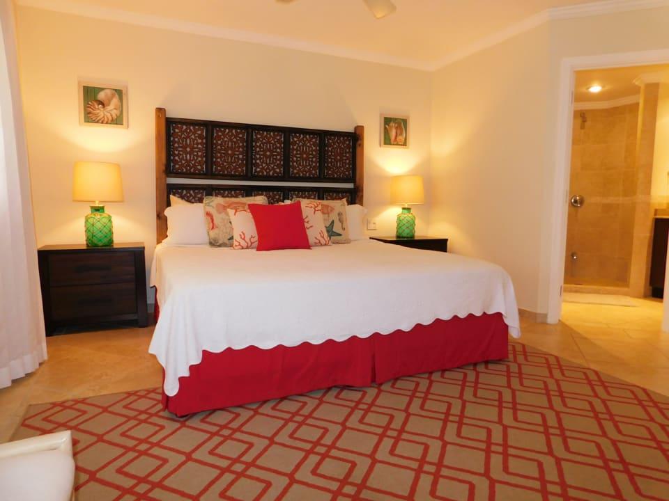 1st. Bedroom as you enter the unit with en-suite