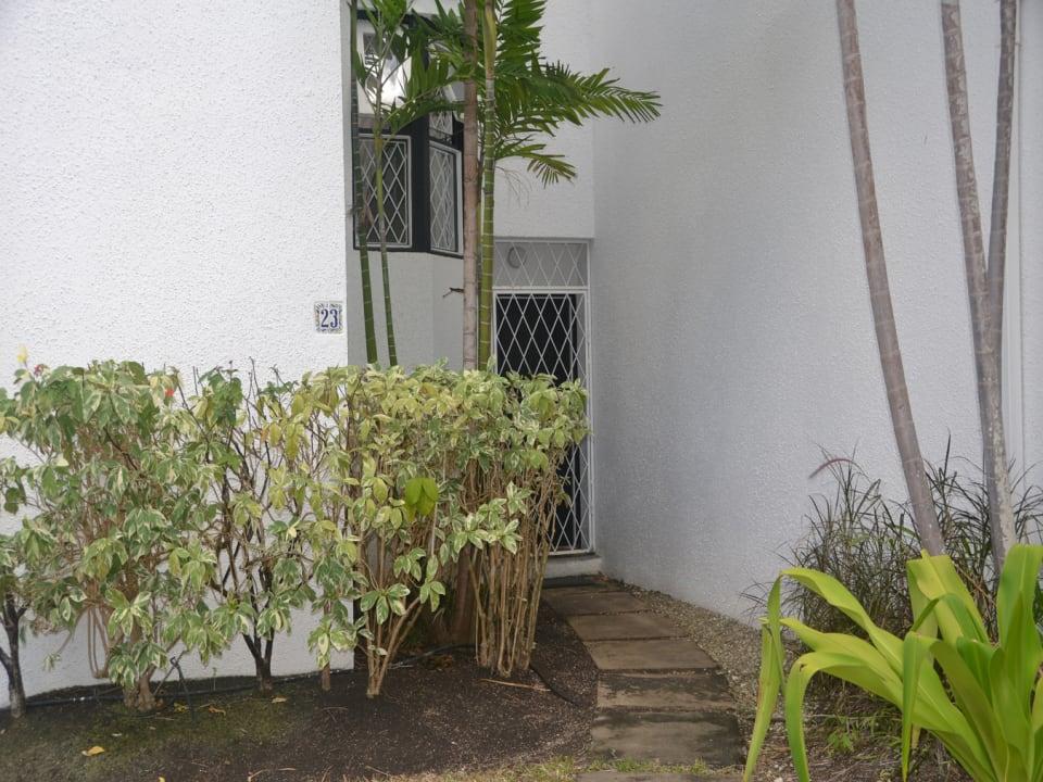 Entrance to unit 23
