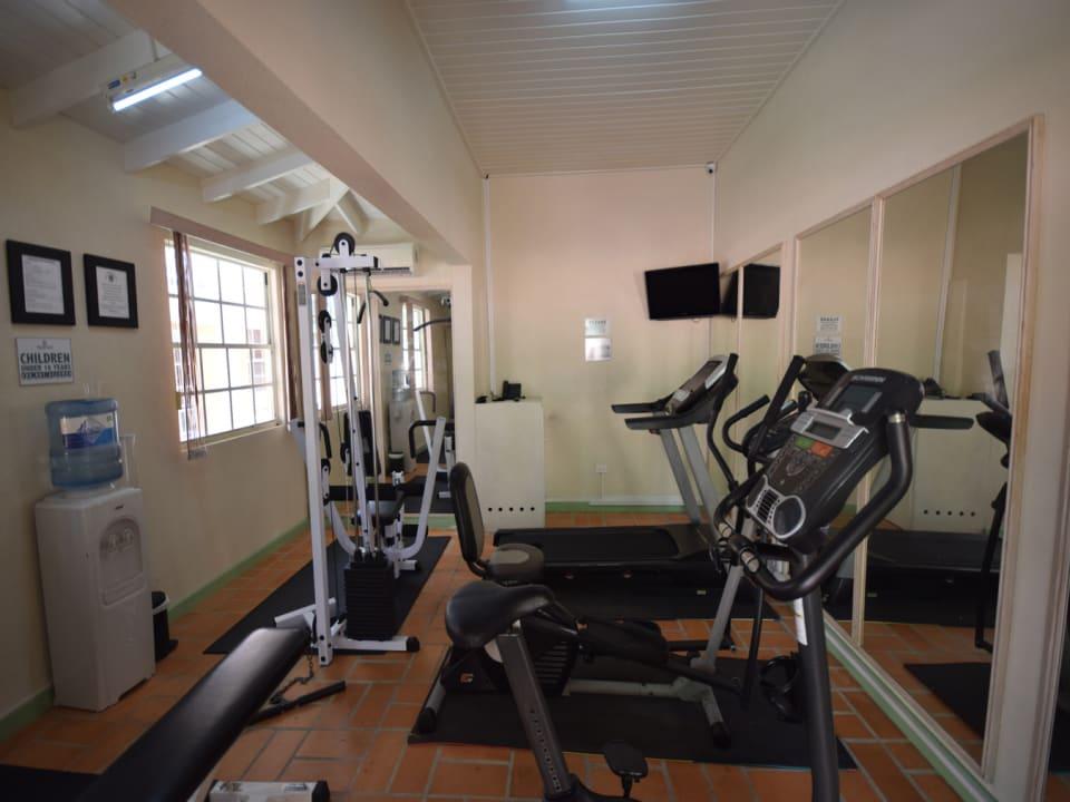 Shared gym