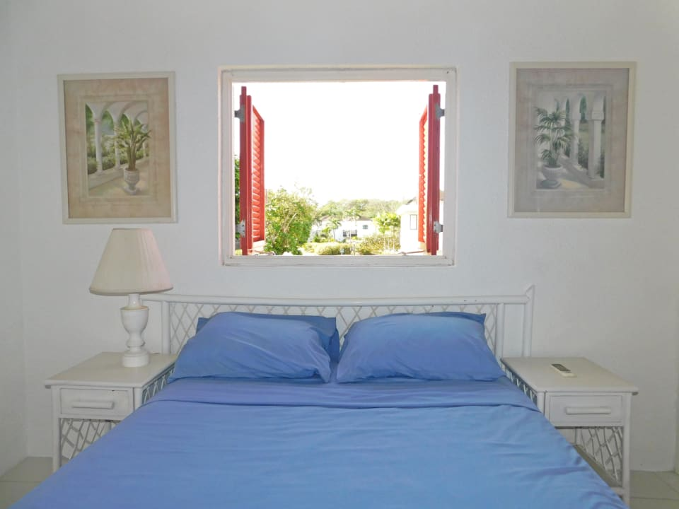 Bedroom window with natural light