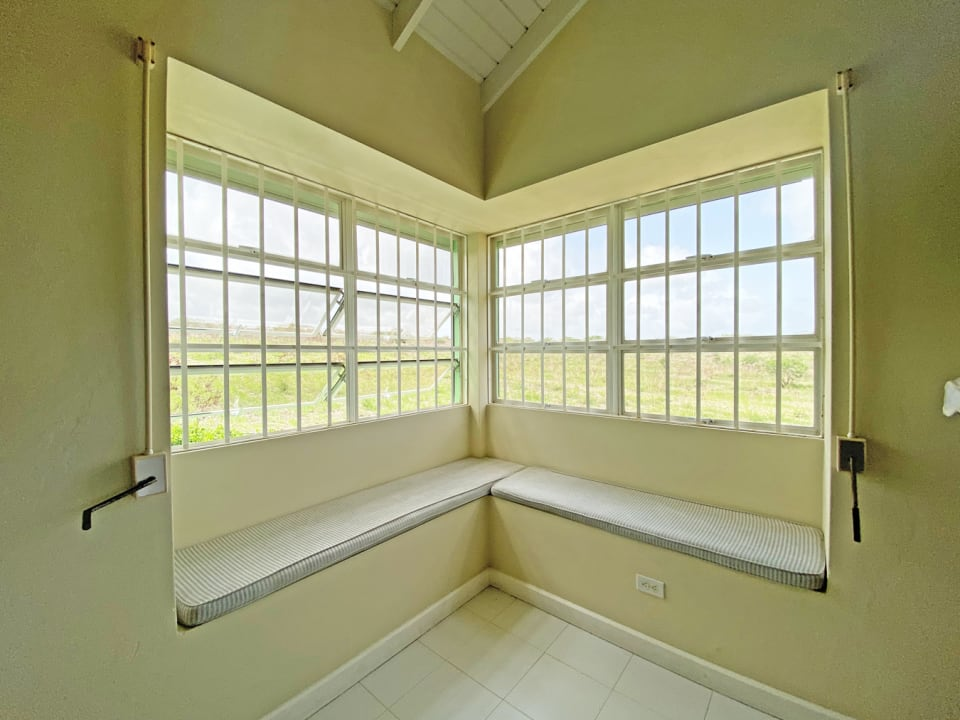 Window Seat with Country Views