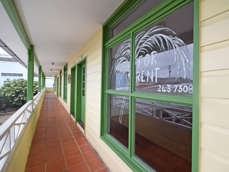 Corridor upstairs and frontage