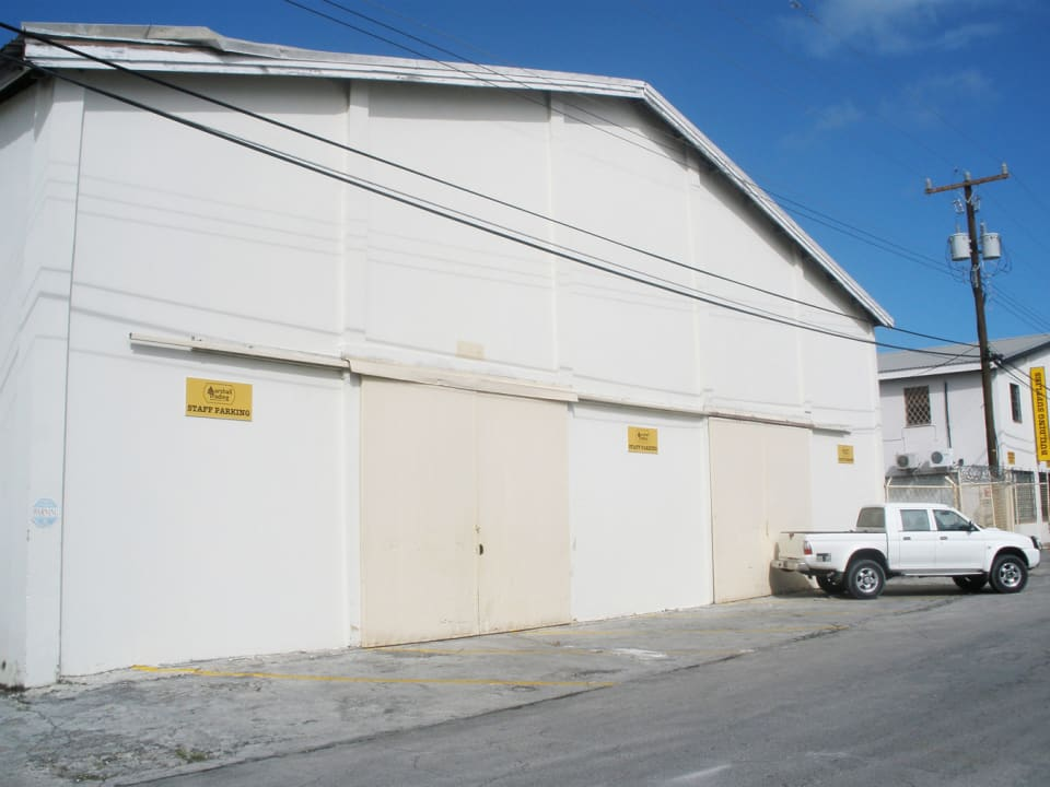 Front of the Warehouse