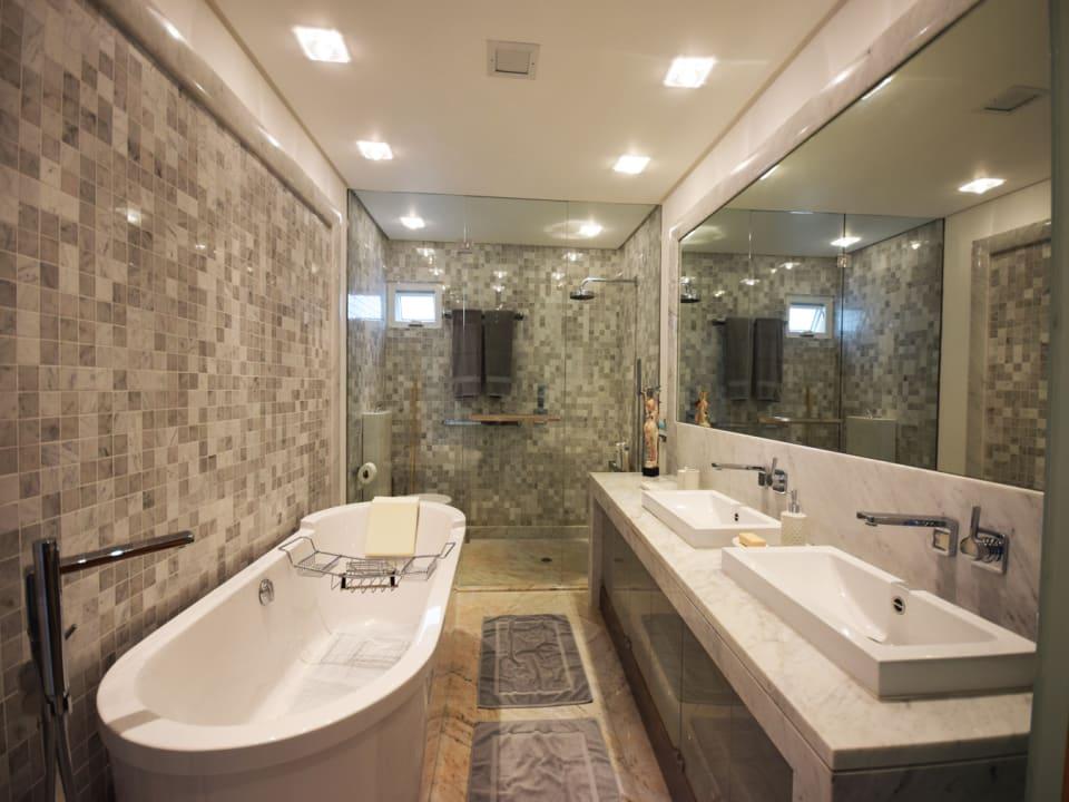 Upgraded Master Bathroom