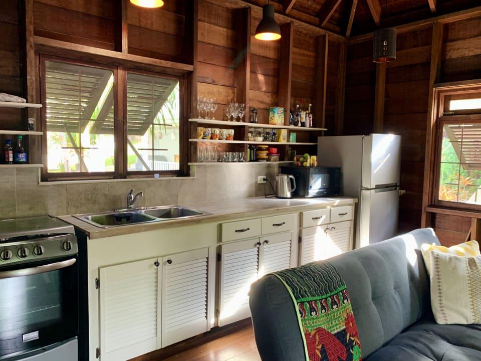 Open plan kitchen - Upper floor