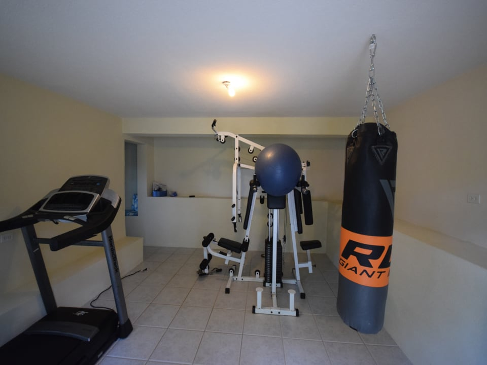 One bedroom apartment or gym