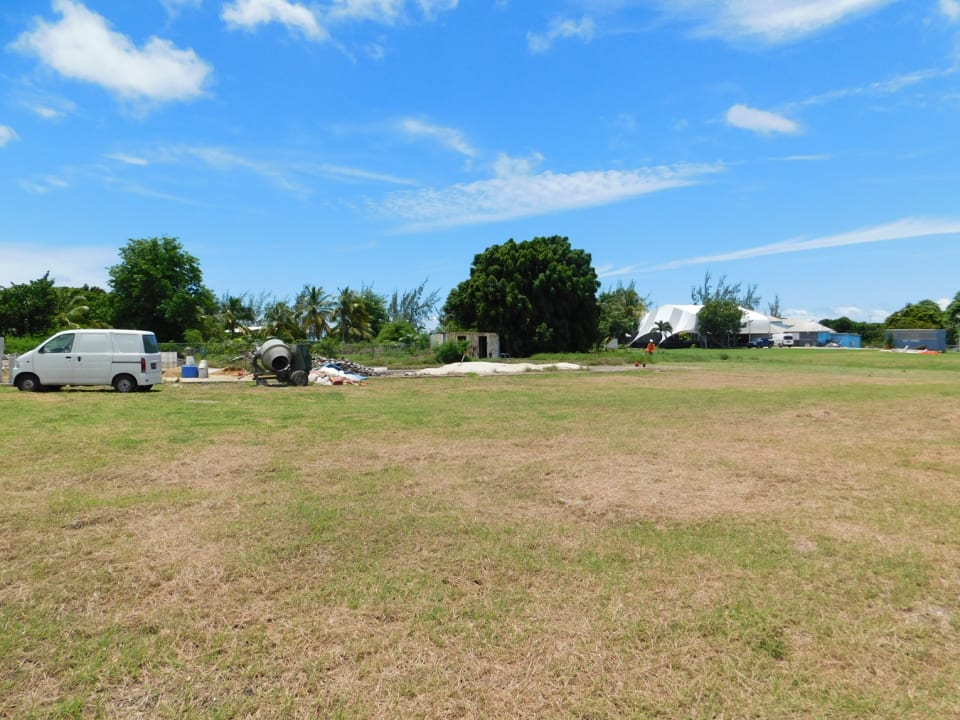 Open lot facing north east