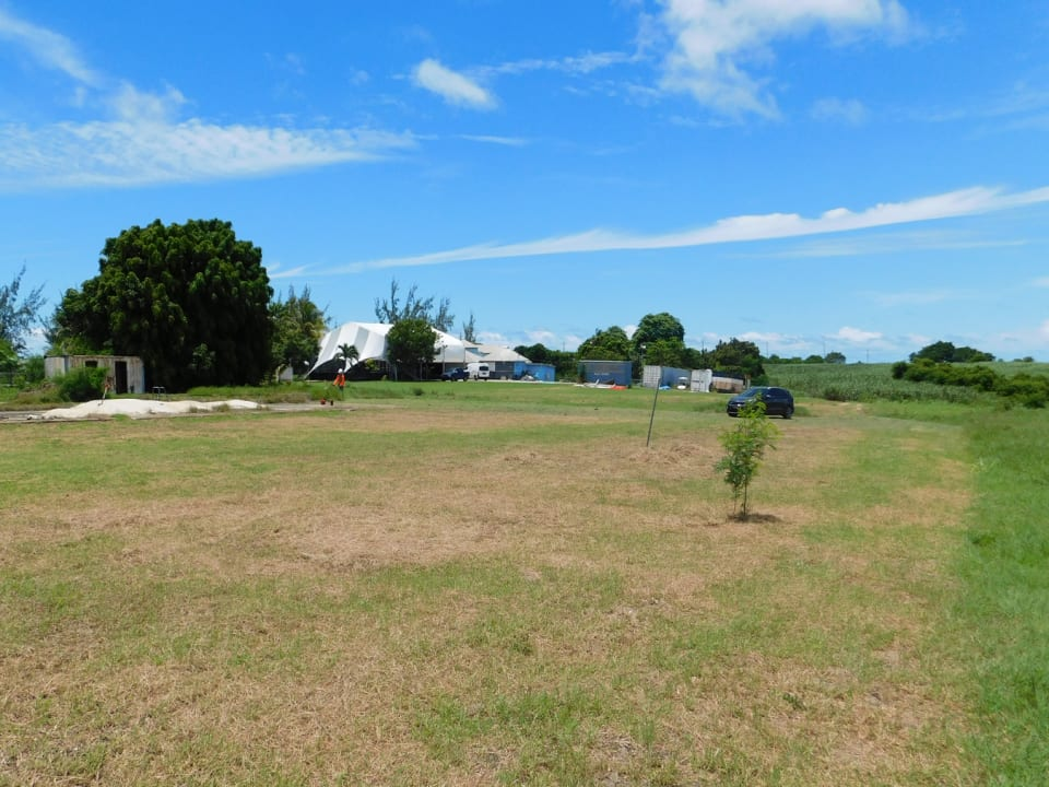 Open lot facing south