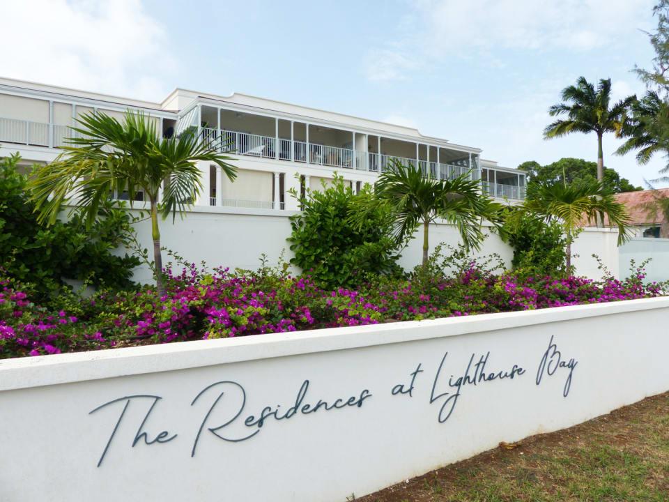Main entrance to Lighthouse Bay Barbados