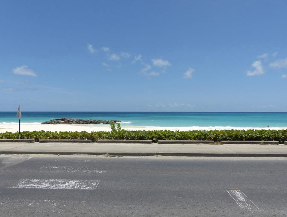 Main road outside lighthouse Bay