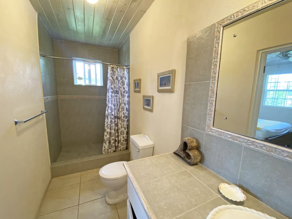 Ensuite bathroom from the main bedroom