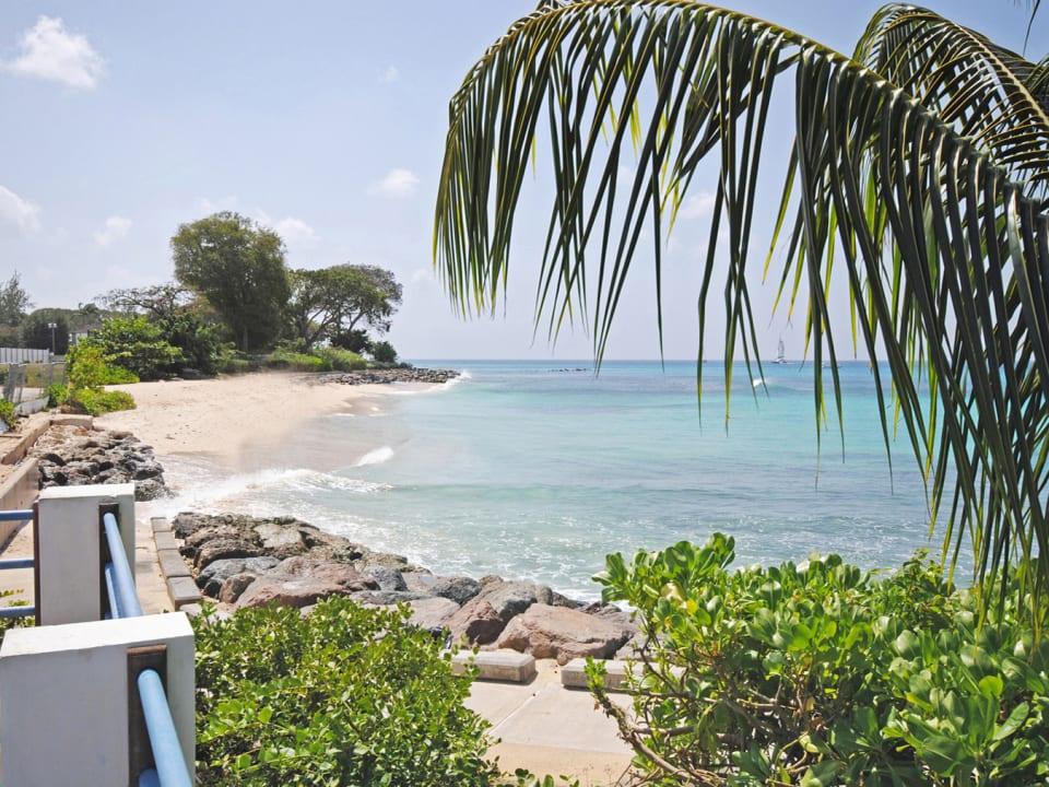 Beach beside The Beach Club