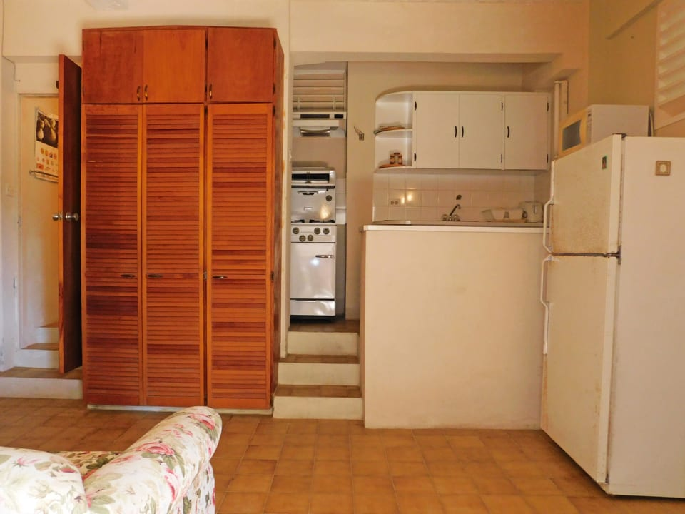 Living and Kitchen area in the apartment