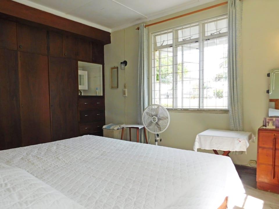 Bedroom 3 with built in cupboards