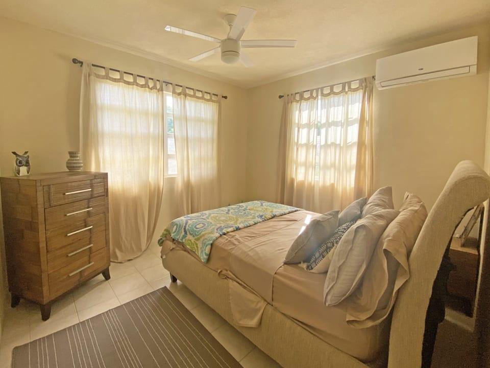 Tastefully furnished master bedroom