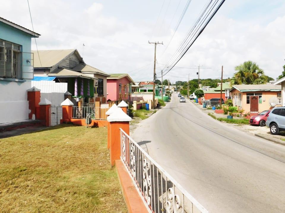 Main Road view facing north