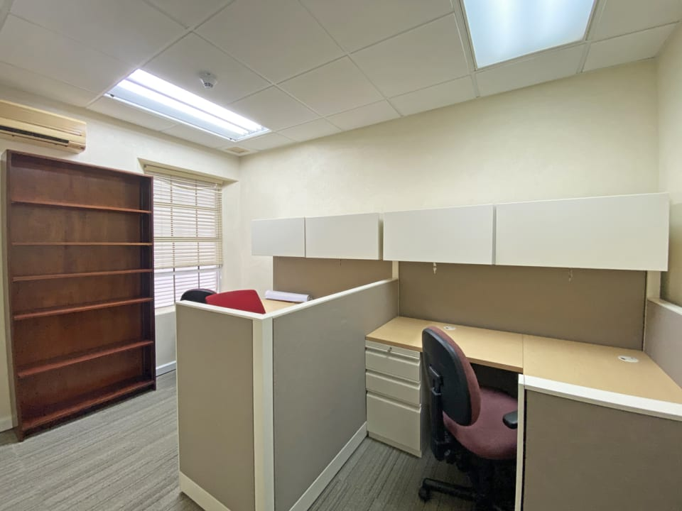Outfitted office space