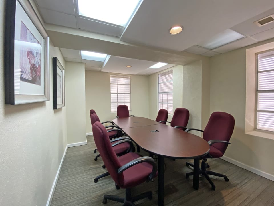 Outfitted boardroom - Top floor