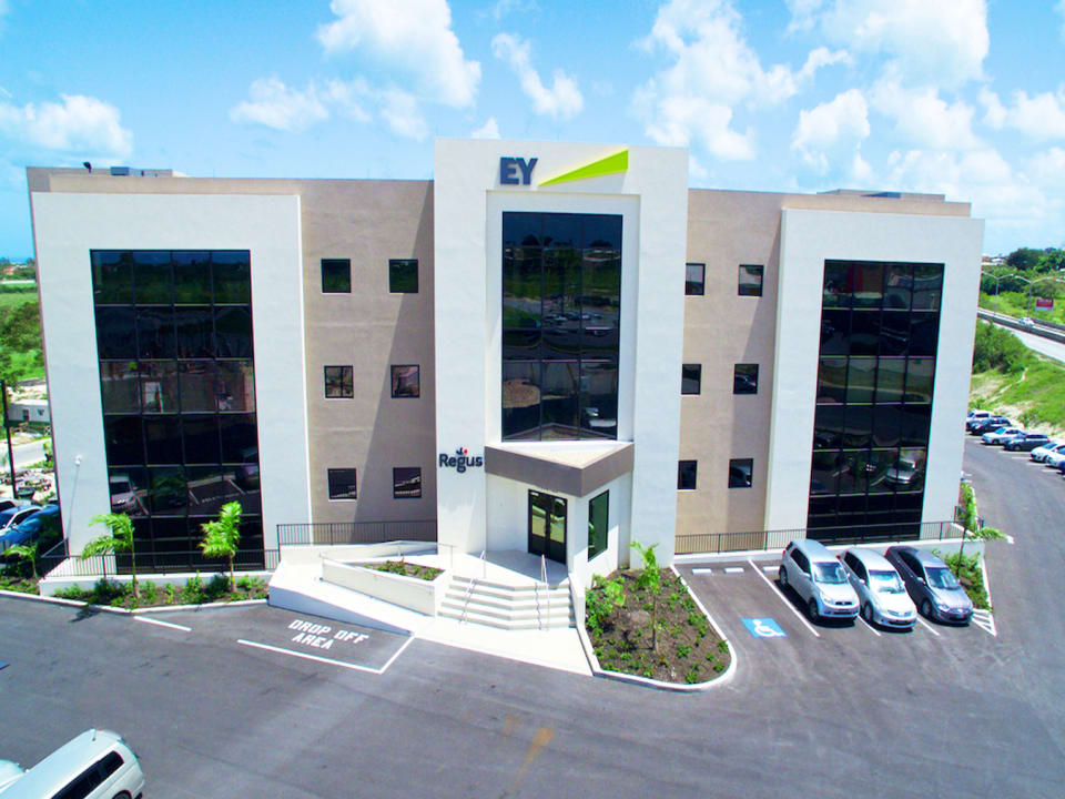 Aerial view of Regus