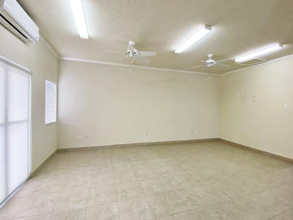 Open plan/office on ground floor