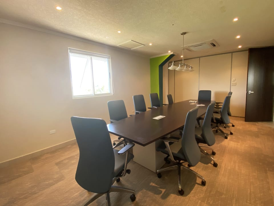 Conference room on top floor