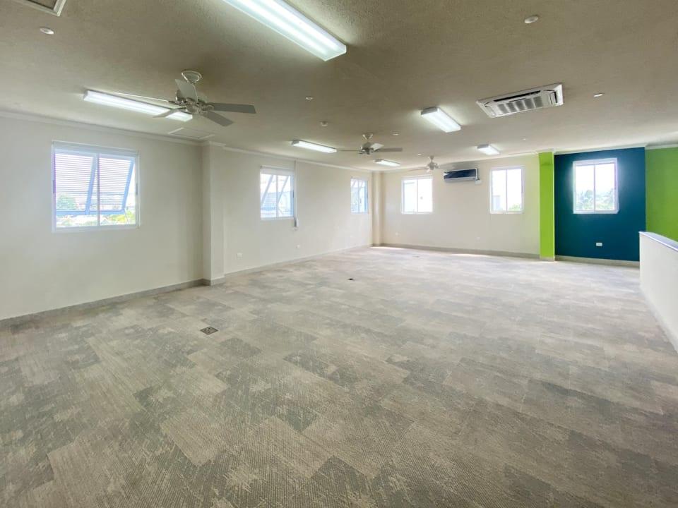 Top floor open space