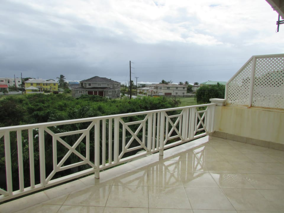 Upper Patio overlooks Atlantic Shores Barbados