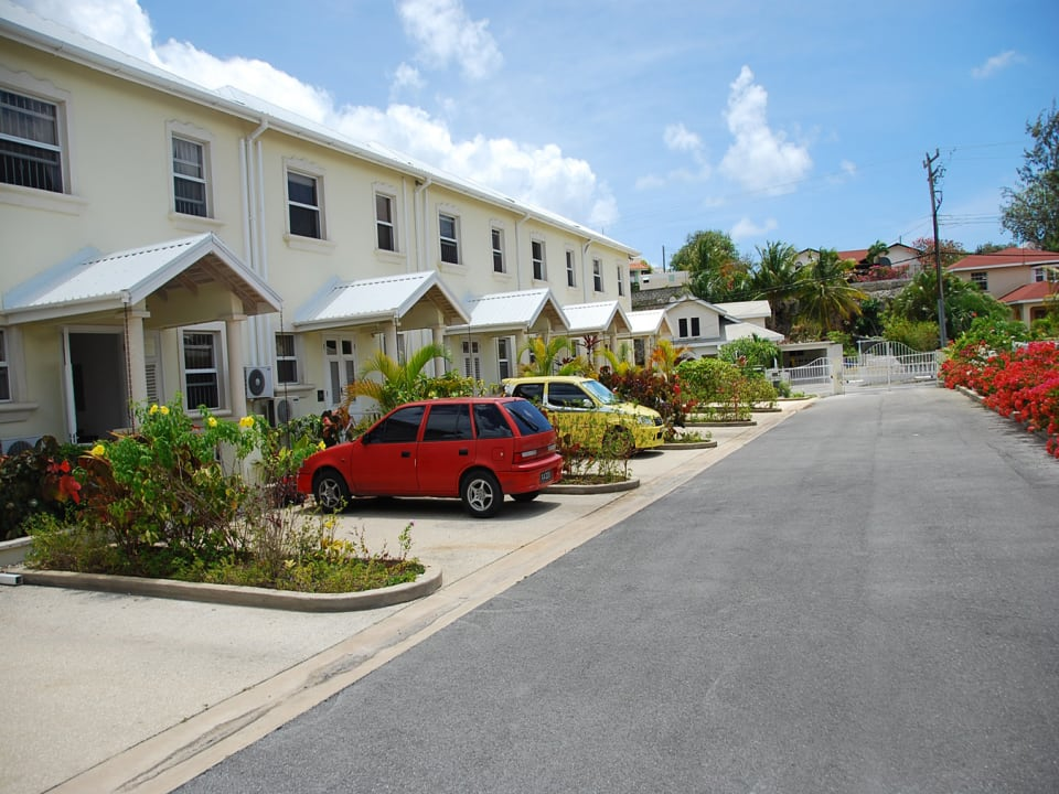 Attractive Row of Barbados Townhouses