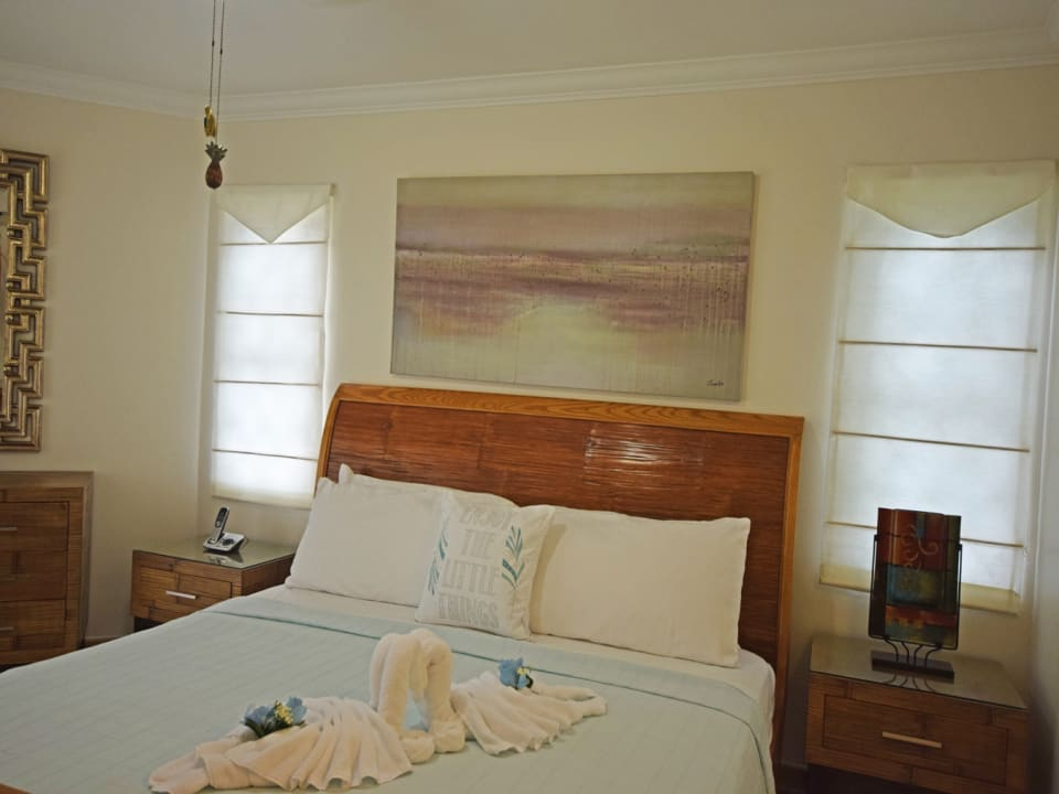 Spacious master bedroom with private patio