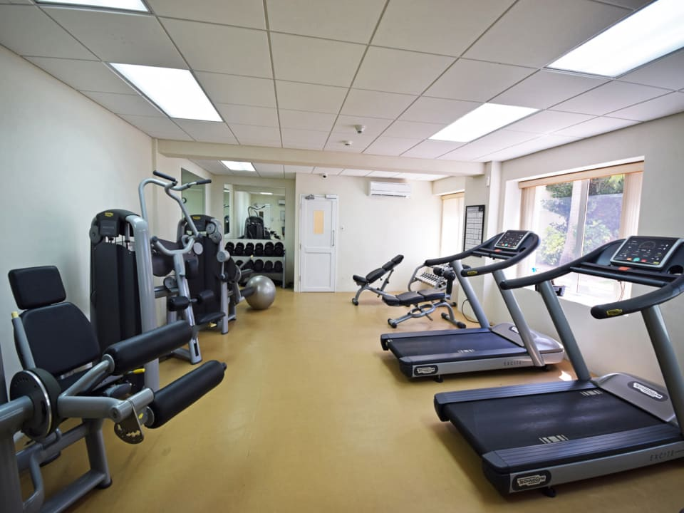 On property fitness centre