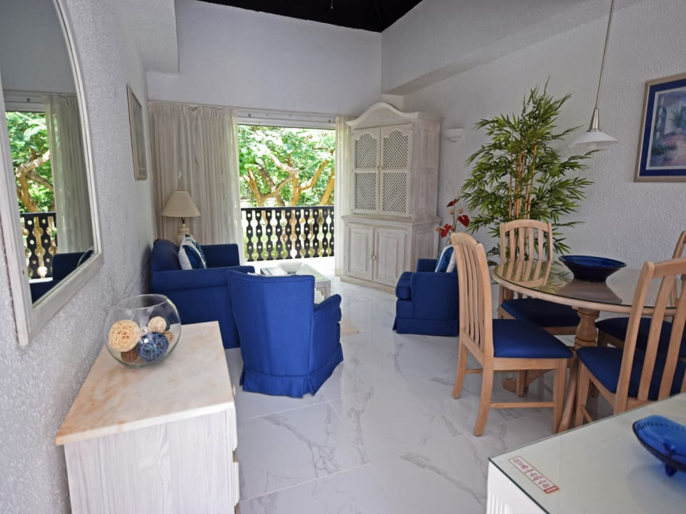Living room opens to terrace