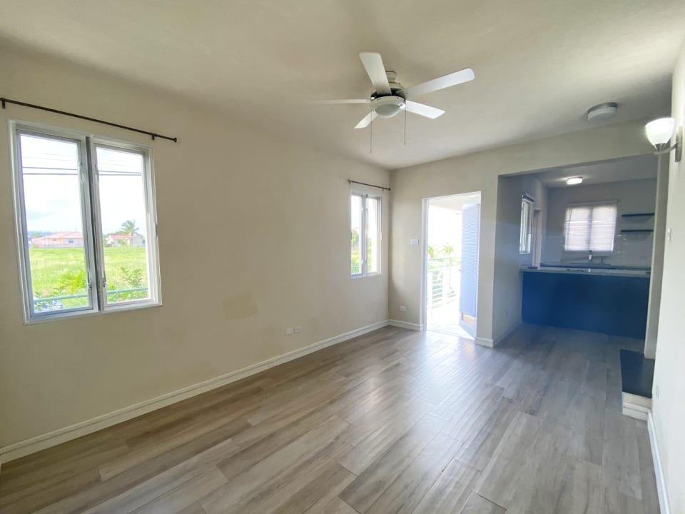 Living room with an abundance of natural light