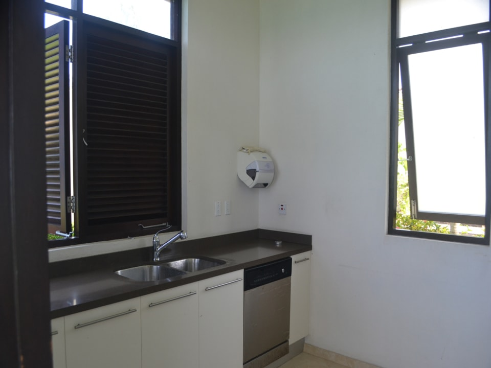 Kitchen area in club house