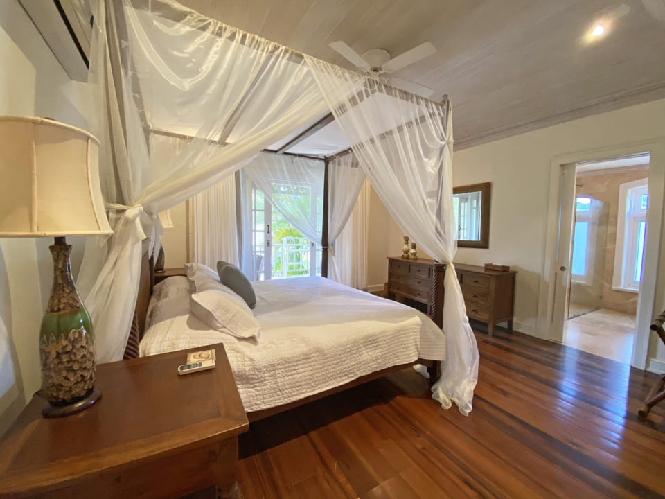 Master bedroom with private terrace and en suite bathroom