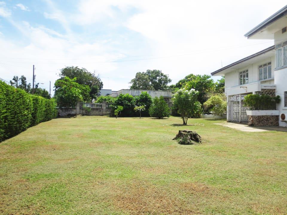 Large gardens