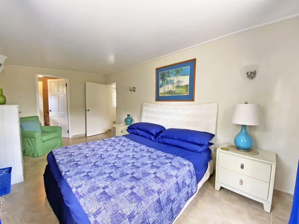 Ground floor 3 bed Apt - Master bedroom