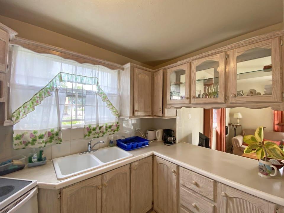 Kitchen with good storage