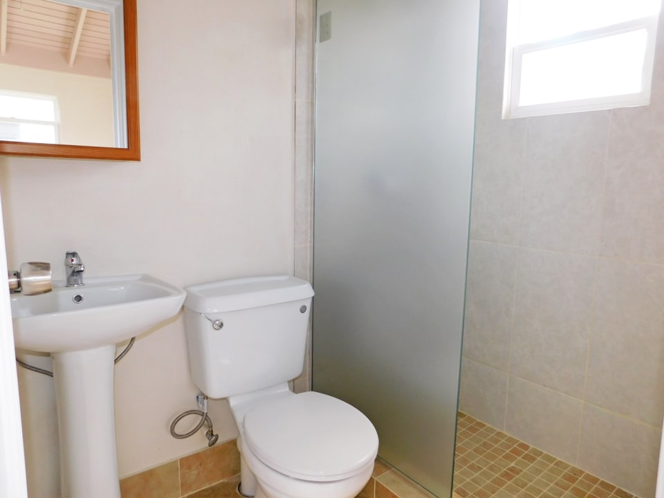 Main Bathroom ensuite to the Bedroom