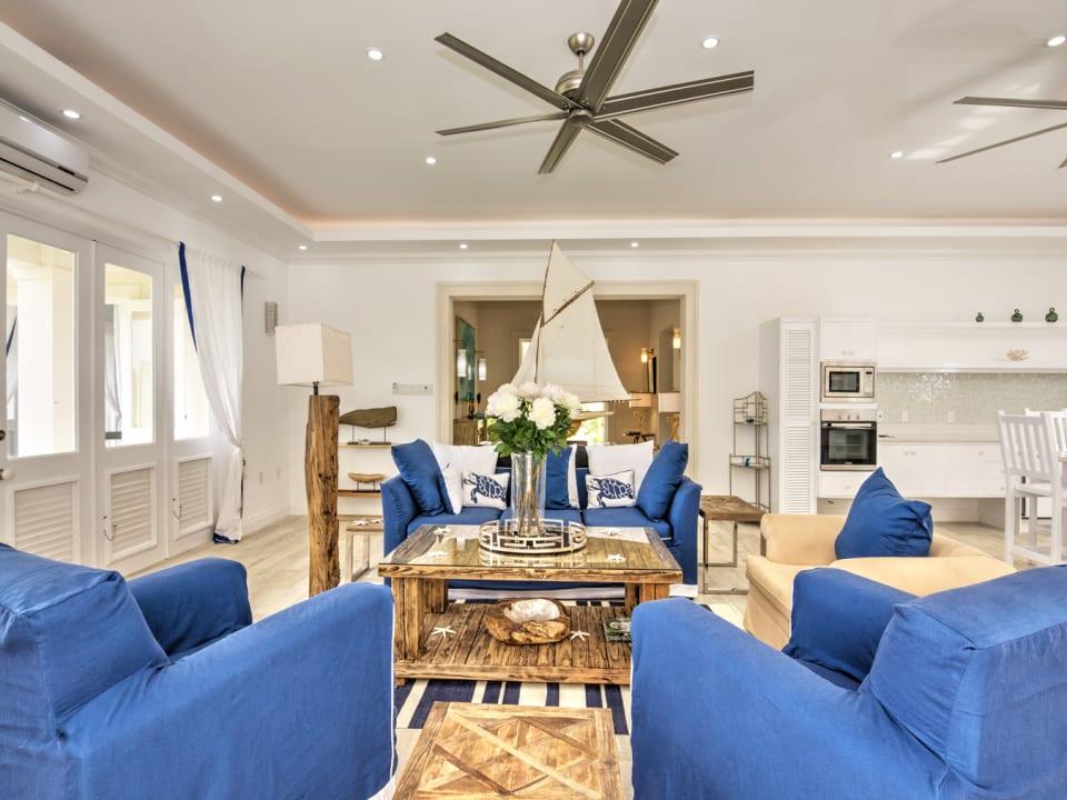 Spacious modern living space