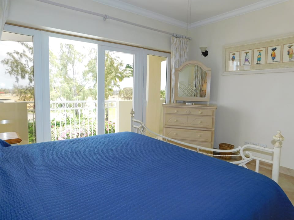 Master Bedroom leading onto the patio overlooking the Durants golf course