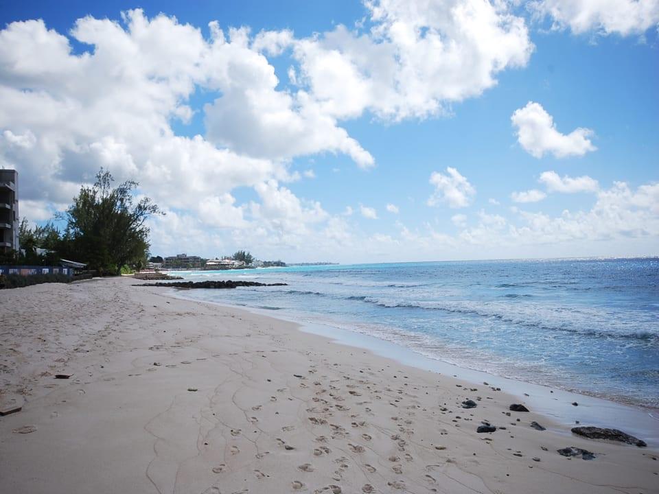 Beach is in walking distance