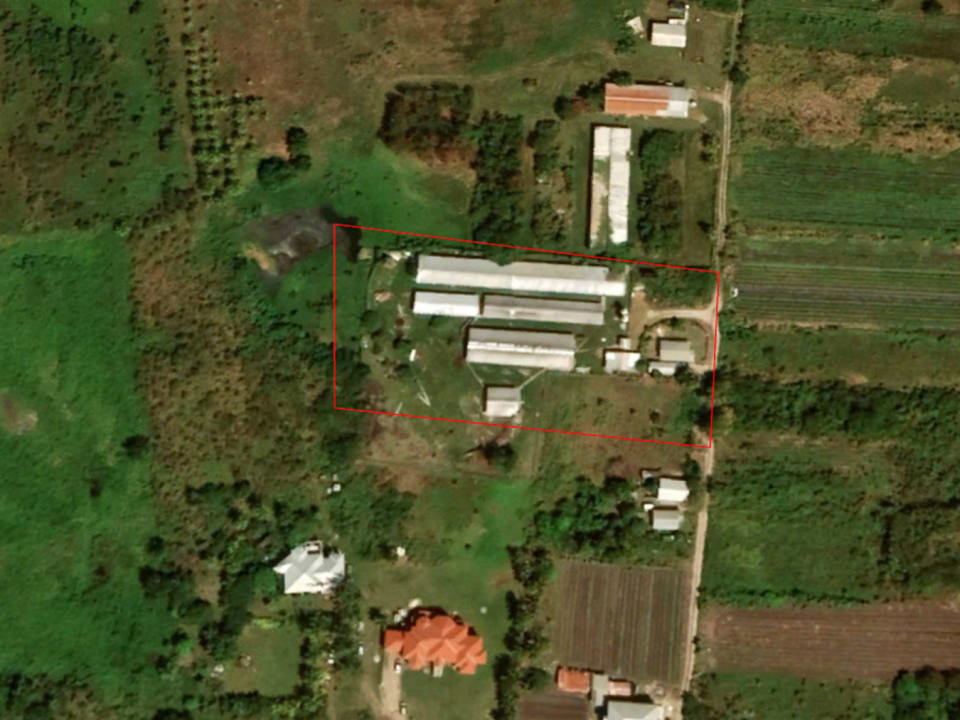 Outline of Kirtons Farm
