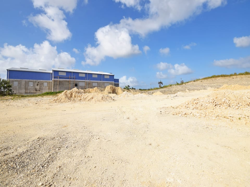 View of Lot 5 subdivision