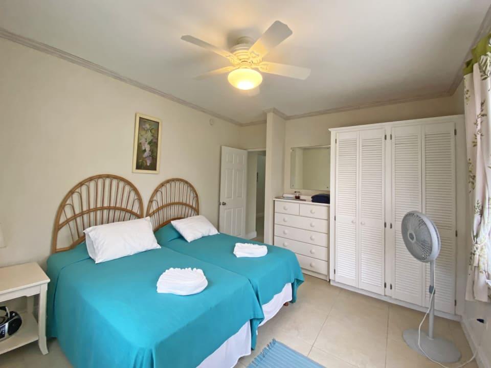 Guest bedroom next to the master bedroom