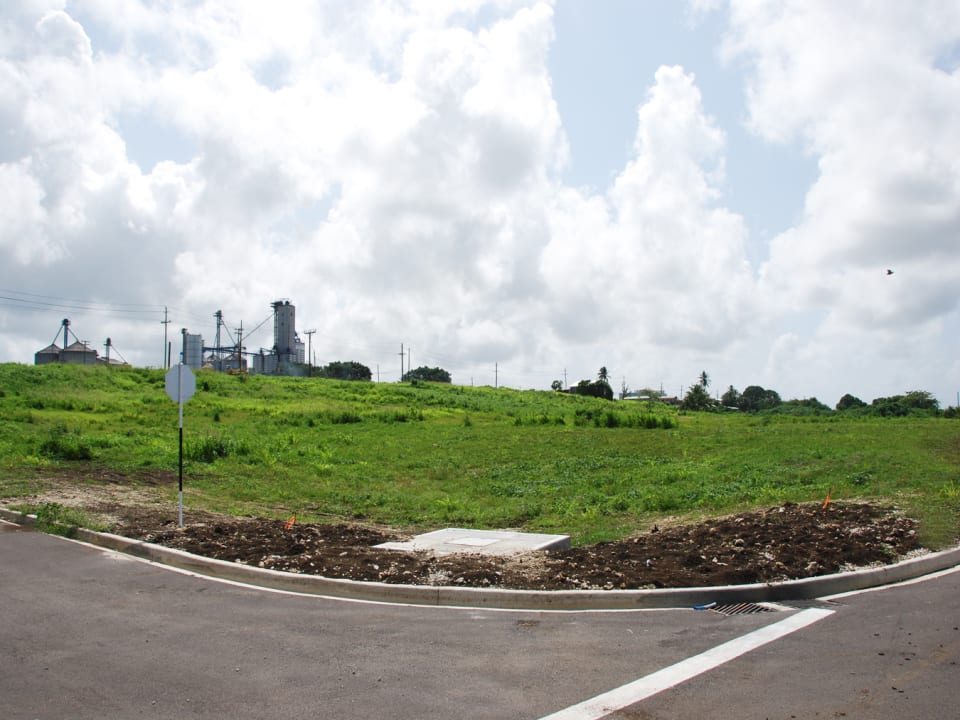 View of the development