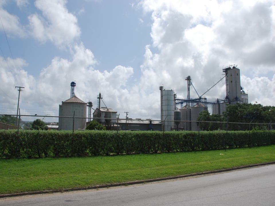 Neighbouring manufacturing plant