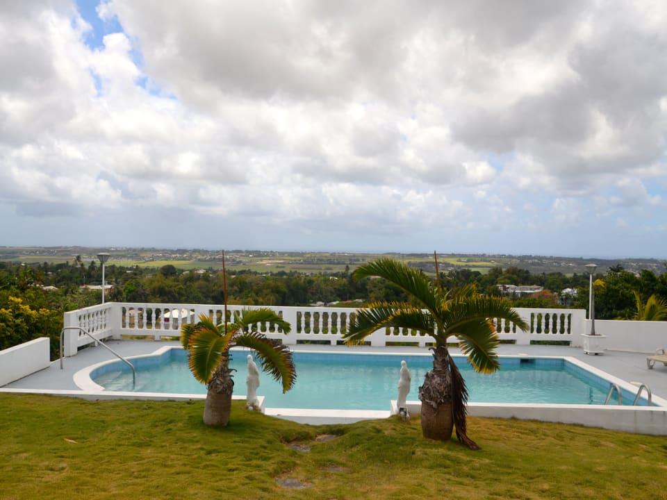 Pool and Views across Barbados